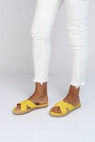 Papuci ShoesTime 18Y 338 Galben
