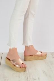 Papuci ShoesTime 19Y 314 Auriu