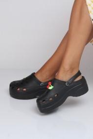 Papuci ShoesTime 19Y 328 Negru