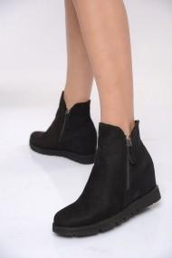 ShoesTime Bakancs PNC-19K_601_SIYAH_SuET Fekete