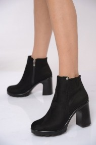 Botine ShoesTime 19K 609 Negru