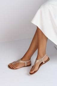Sandale plate ShoesTime 19Y 918 Auriu