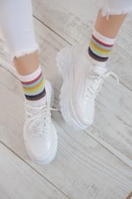 Pantofi sport ShoesTime 19Y 142 Alb