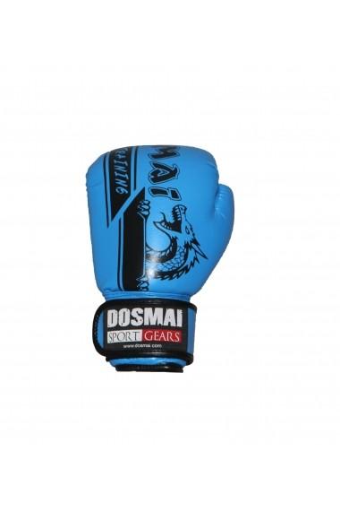 Manusi box Dosmai EL340 albastru