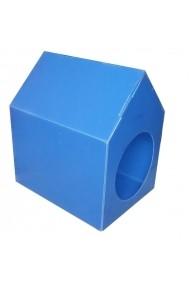 Casuta pentru pisici Angele Home 2067 Albastru