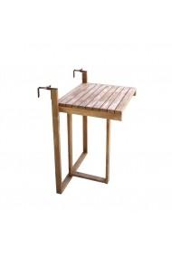 Masa in lemn, pliabila, pentru balcon Angele Home 2167 Maro