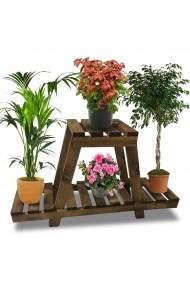 Suport pentru ghivece plante Angele Home 2124 Maro