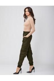 Pantaloni Rhizome cargo AMANDA Olive