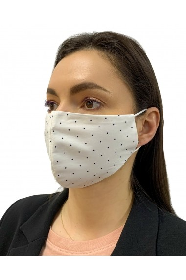 Masca Reutilizabila bumbac captusita cu jerseu de bumbac tratat antibacterian Alison Hayes Ivoir