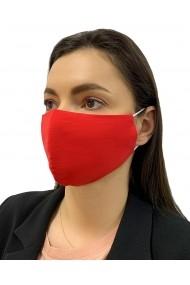 Masca Reutilizabila bumbac captusita cu jerseu de bumbac tratat antibacterian Alison Hayes Rosu