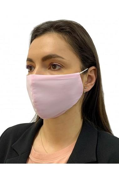 Masca Reutilizabila bumbac captusita cu jerseu de bumbac tratat antibacterian Alison Hayes Roz