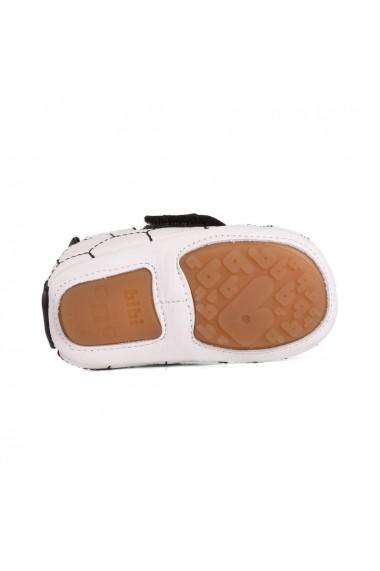 Pantofi Baietei Bibi Afeto New Alb/Negru