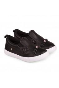 Pantofi Fetite Agility Mini Negri-Pisica