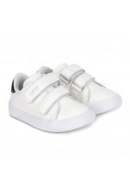 Pantofi Baieti Bibi Agility Mini Albi Cu Velcro