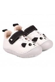 Pantofi Fetite BIBI Grow Alb/glitter Panda