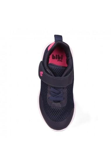 Pantofi Sport Fete Bibi Evolution Up Navy Cu Led