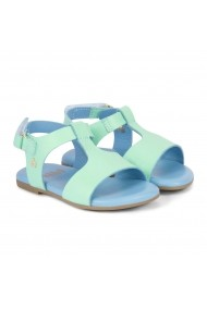 Sandale Fete Bibi Baby Birk Verde Pastel