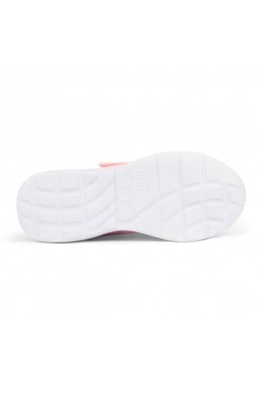 Pantofi Sport Fete Bibi Evolution Up Roz Cu Led