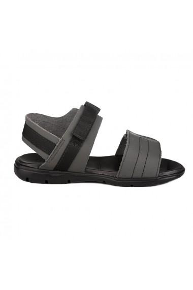 Sandale Baieti Bibi Basic Gri
