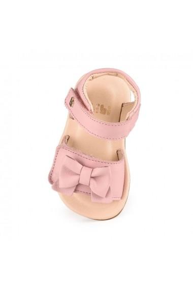 Sandale Fetite Bibi Afeto Roz Cu Funda