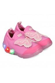 Pantofi Sport Fete Bibi Space Wave Cu Lumini-Fluturas