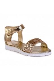 Sandale plate BIBI Glitter Auriu