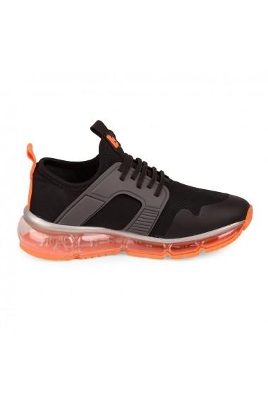 Pantofi Sport BIBI New Bubble Grafit/orange
