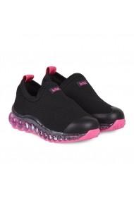 Pantofi Sport Led BIBI Roller Celebration Negri/roz