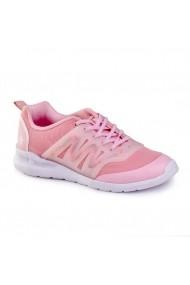 Pantofi Fete BIBI EASY Roz cu LED