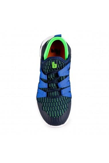 Pantofi Sport Baieti Bibi Evolution Bleumarin/Verde