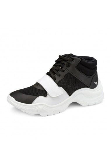 Pantofi Sport BIBI Ugly Alb/negru