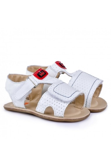 Sandale baieti BIBI Afeto Albe