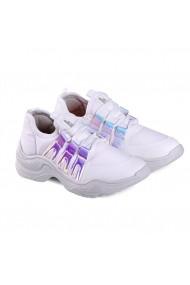 Pantofi Sport Fete Bibi Chunky Albi – Colectia Ugly Shoes