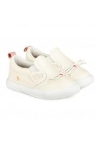 Pantofi Fetite Agility Mini Albi-Pisica