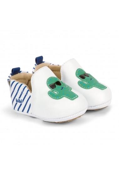 Pantofi Baietei Bibi Afeto New Albi-Cactus