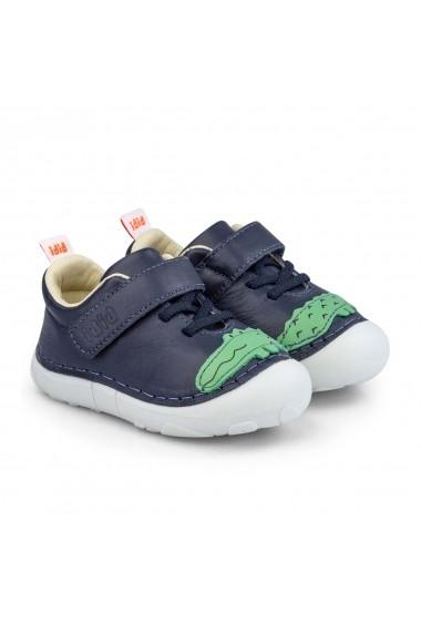 Pantofi Fete Bibi Grow II Crocodil