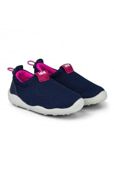 Pantofi Fete Bibi FisioFlex 4.0 Naval Textil