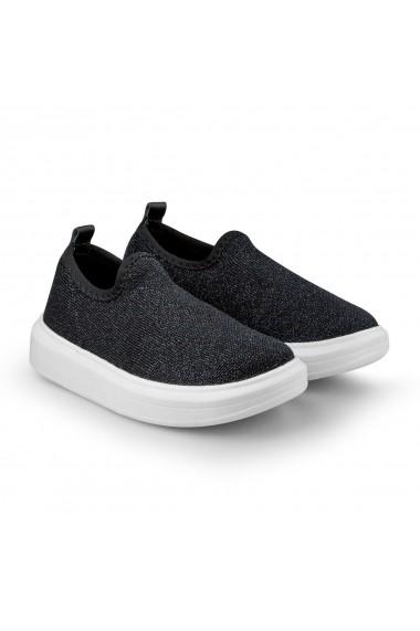 Pantofi Fete Bibi Glam Black