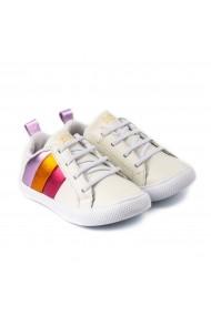 Pantofi Fete Bibi Agility Mini Albi Color