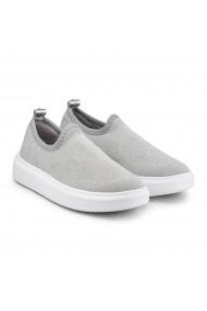 Pantofi Fete Bibi Glam Silver