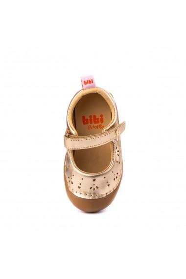Pantofi Fete Bibi Grow II Aurii