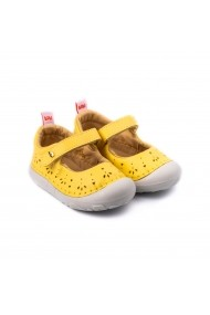 Pantofi Fete Bibi Grow II Galbeni