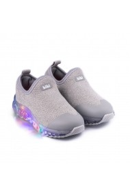 Pantofi Sport LED Bibi Roller Celebration Lurex/Silver