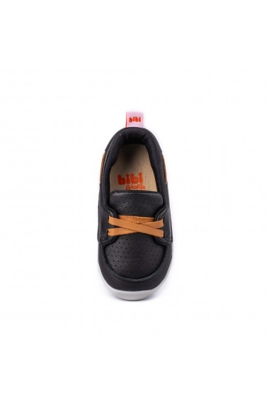 Pantofi Baieti Bibi Fisioflex 4.0 Black/Brandy