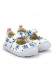 Pantofi Fete Bibi Grow II Blue Garden