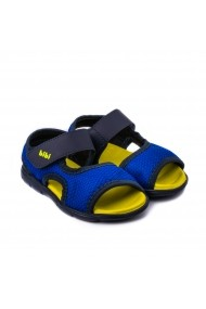 Sandale Baieti Bibi Basic Mini Naval/Galben