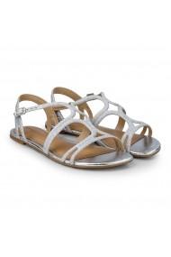 Sandale Fete Little Me Glitter Silver