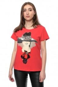 Tricou Jolenttine Red Hat JOT00001 Rosu