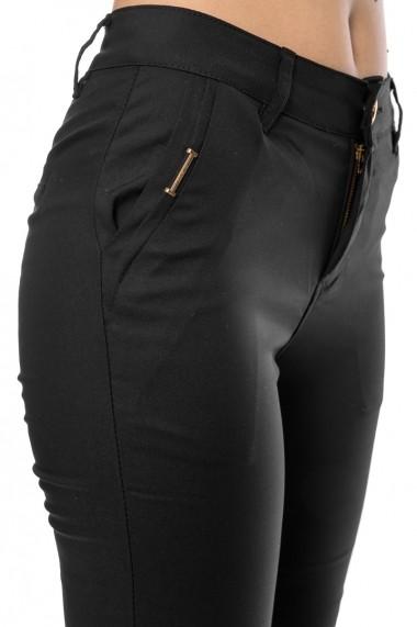 Pantaloni slim fit Jolenttine negri