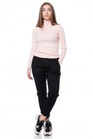 Pantaloni drepti Jolenttine P9933 REBECCA Negri